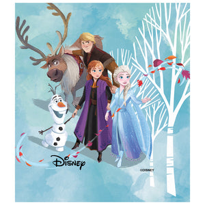 Frozen Characters Kids Mask Design Full View