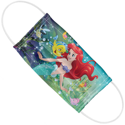 Disney Princess Ariel Under the Sea Adult Flat View