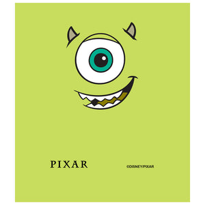 Load image into Gallery viewer, Monsters Inc. Mike Face Kids Mask Design Full