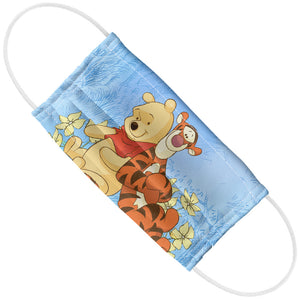 Load image into Gallery viewer, Winnie the Pooh and Tigger In the Woods Adult Flat View