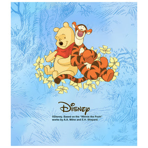 Load image into Gallery viewer, Winnie the Pooh and Tigger In the Woods Kids Mask Design Full