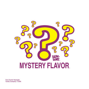 Dum Dums Mystery Flavor Adult Mask Design Full View