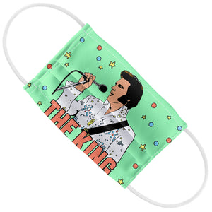 Elvis Presley The King Illustrated Kids Flat View