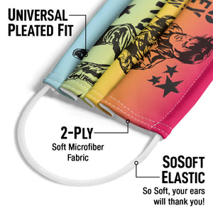 Load image into Gallery viewer, Elvis Presley Revolution King Adult Universal Pleated Fit, 2-Ply, SoSoft Elastic Earloops