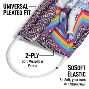 Elvis Presley Viva Elvis Adult Universal Pleated Fit, 2-Ply, SoSoft Elastic Earloops