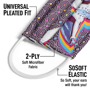 Load image into Gallery viewer, Elvis Presley Viva Elvis Kids Universal Pleated Fit, 2-Ply, SoSoft Elastic Earloops