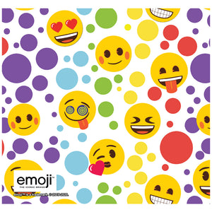 emoji TM - The Iconic Brand Dot Pattern Adult Mask Design Full View