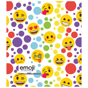 emoji TM - The Iconic Brand Dot Pattern Kids Mask Design Full View