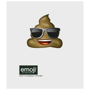 emoji TM - The Iconic Brand Cool Poo Kids Mask Design Full View