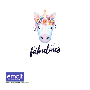 emoji TM - The Iconic Brand Fabulous Adult Mask Design Full View