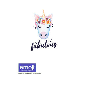 Load image into Gallery viewer, emoji TM - The Iconic Brand Fabulous Kids Mask Design Full View
