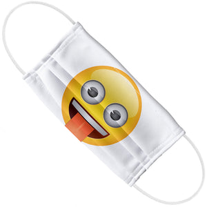 emoji TM - The Iconic Brand Tongue Out Adult Flat View