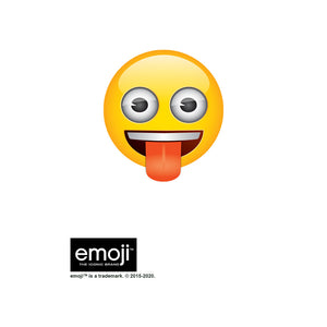 emoji TM - The Iconic Brand Tongue Out Kids Mask Design Full View