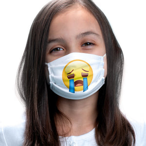 emoji TM - The Iconic Brand Sad Face Kids Main Model View