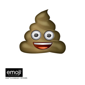 emoji TM - The Iconic Brand Poo Adult Mask Design Full View