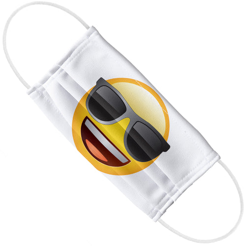 emoji TM - The Iconic Brand Cool Face Adult Flat View
