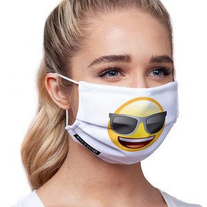emoji TM - The Iconic Brand Cool Face Adult Main/Model View