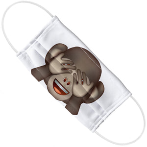 Load image into Gallery viewer, emoji TM - The Iconic Brand Monkey Adult Flat View
