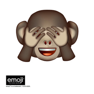 emoji TM - The Iconic Brand Monkey Adult Mask Design Full View