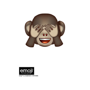 emoji TM - The Iconic Brand Monkey Kids Mask Design Full View