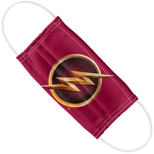 The Flash: TV Series Chest Logo Adult Flat View
