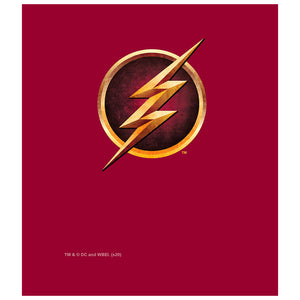 The Flash: TV Series Chest Logo Kids Mask Design Full View