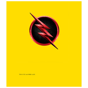 Load image into Gallery viewer, The Flash: TV Series Reverse Flash Logo Kids Mask Design Full View