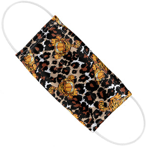 Load image into Gallery viewer, Garfield Wild Cat Leopard Pattern Adult Flat View