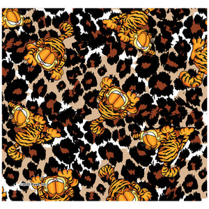 Load image into Gallery viewer, Garfield Wild Cat Leopard Pattern Adult Mask Design Full View