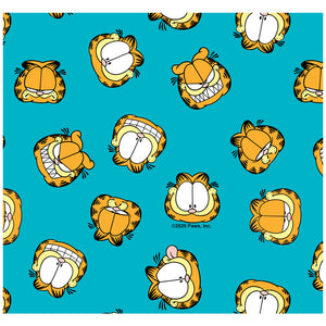 Garfield Face Pattern Adult Mask Design Full View