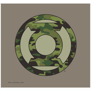 Load image into Gallery viewer, Green Lantern Camo Logo