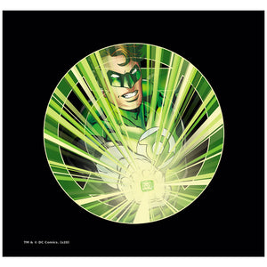 Load image into Gallery viewer, Green Lantern Light 'em Up Adult Mask Design Full View
