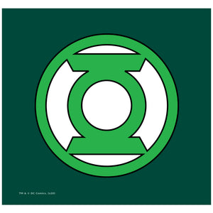 Green Lantern Lantern Logo Adult Mask Design Full View