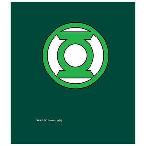 Green Lantern Lantern Logo Kids Mask Design Full View