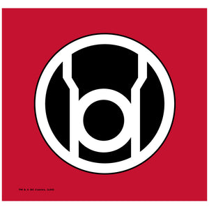 Green Lantern Red Lantern Logo
