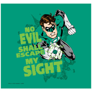 Green Lantern No Evil Adult Mask Design Full View