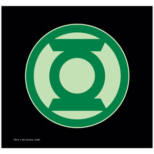 Green Lantern Green Symbol Adult Mask Design Full View