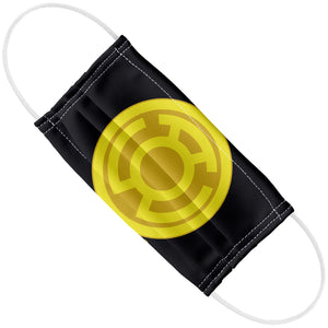 Load image into Gallery viewer, Green Lantern Yellow Symbol Adult Flat View