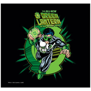 Load image into Gallery viewer, Green Lantern Rayner Cover Adult Mask Design Full View