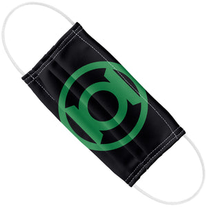 Load image into Gallery viewer, Green Lantern Green Emblem Adult Flat View