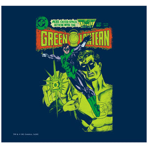 Green Lantern Vintage Cover Adult Mask Design Full View