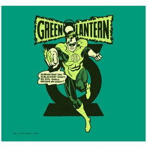 Load image into Gallery viewer, Green Lantern Retro Oath Adult Mask Design Full View