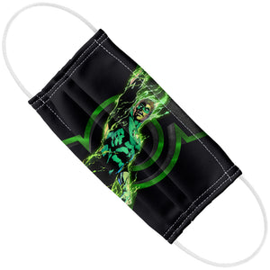 Green Lantern Fully Charged Lantern Adult Flat View