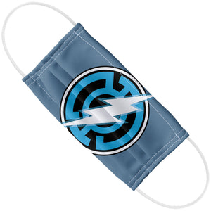 Green Lantern Blue Lantern Flash Adult Flat View