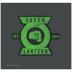 Green Lantern Section Adult Mask Design Full View
