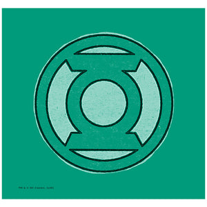 Green Lantern Hand Me Down Adult Mask Design Full View