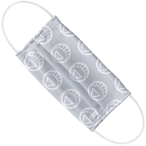 Green Lantern Blackest Night White Lantern Logo Pattern Adult Flat View