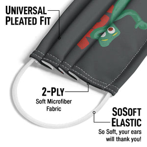 Gumby on Logo Adult Universal Pleated Fit, 2-Ply, SoSoft Elastic Earloops