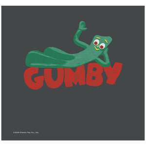 Load image into Gallery viewer, Gumby on Logo Adult Mask Design Full View
