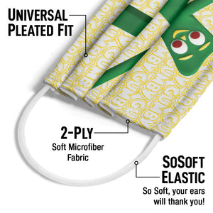 Gumby Stretched Adult Universal Pleated Fit, 2-Ply, SoSoft Elastic Earloops